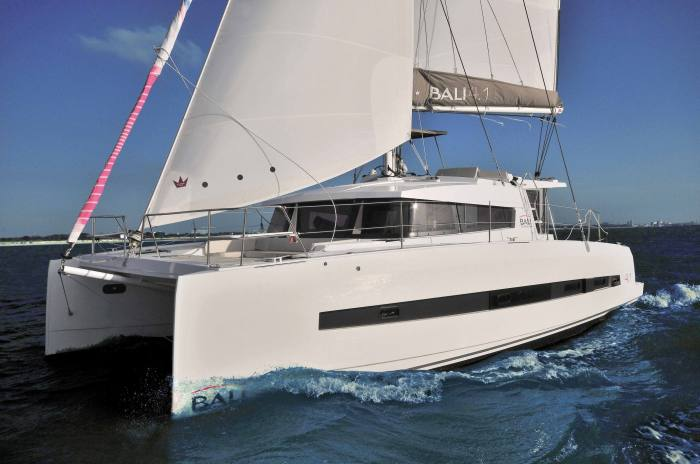 BALI Catamarans in the UK
