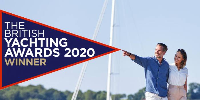THE BRITISH YACHTING AWARDS 2020 WINNER